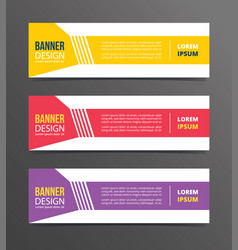 shapes dotted angle on left style banner template vector image