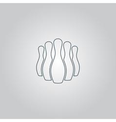 Skittles icon vector