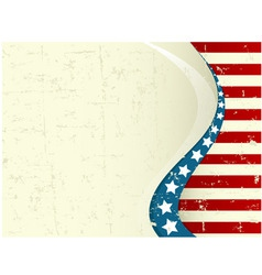 fourth of july background vector image vector image