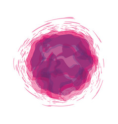 Pink and purple watercolor art paint vector
