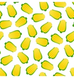 Seamless Pattern with Corns vector image