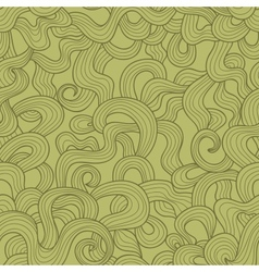 Abstract doodle threads seamless pattern Retro vector