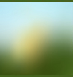 Abstract green blurred gradient background vector