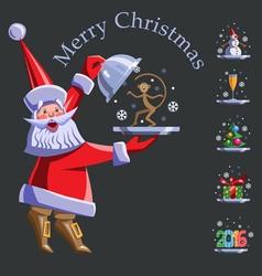 Christmas 2016 vector image