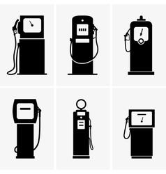 Gasoline pump vector image