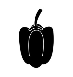 bell pepper vegetable icon image vector image vector image