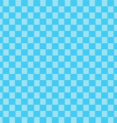Blue seamless fabric texture pattern vector