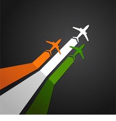 India plane vector image