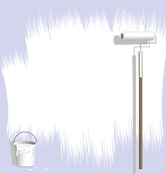 paint background vector image