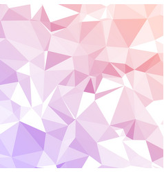 pink polygonal background vector image