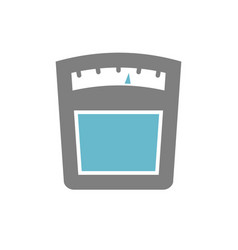 scales icon on white background for graphic and vector image