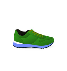 Sneakers sport shoes shoes for running vector