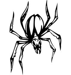 spider - halloween set vector image