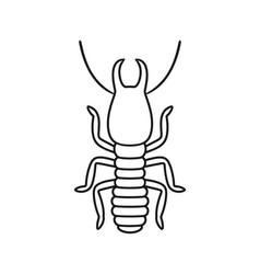 termite vector image