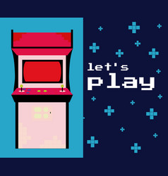 Lets play arcade vector