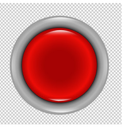 red button vector image vector image