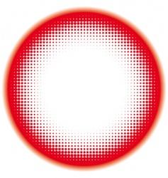 halftone frame vector image