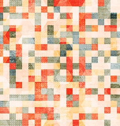 vintage squares seamless vector image vector image
