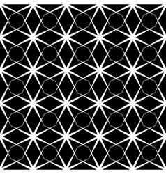 Stars and rhombus geometric seamless pattern 1603 vector image