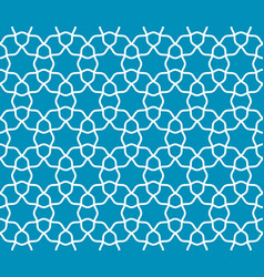 Arabic lattice geometric seamless pattern vector