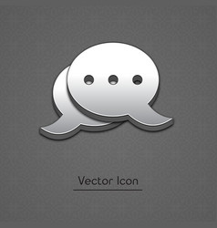 blog icon in trendy 3d style vector image