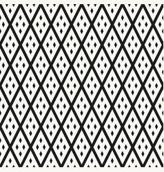 geometric rhombuses seamless pattern vector image