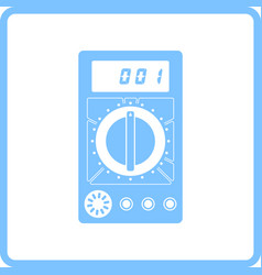 multimeter icon vector image