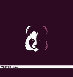 panda boss vector image