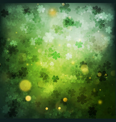 St patrick s day abstract green background eps vector