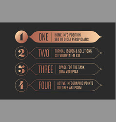 Set of infographic design vintage arrows banners vector