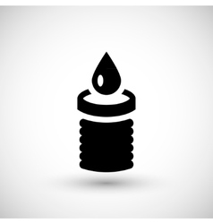 Sewerage system icon vector image