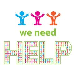 We need help vector