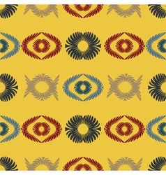 seamless background with abstract pattern vector image vector image
