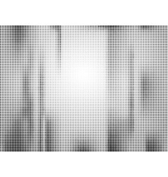 background white and black with dots halftone vector image