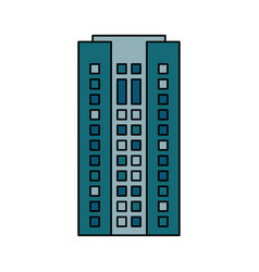 Building cityspace residential image vector