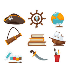 Corsair childish toys vector