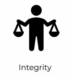 Integrity sign vector