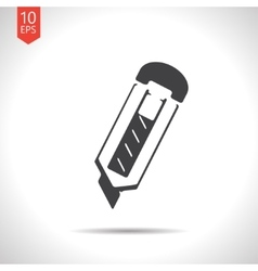 knife icon Eps10 vector image