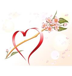 Loving heart vector