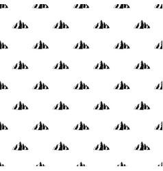 Mountain pattern vector