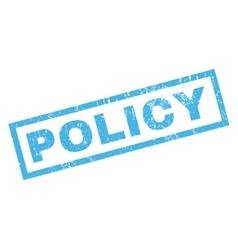 Policy Rubber Stamp vector