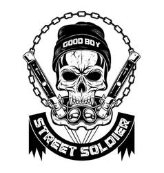 street soldier 0002 vector image