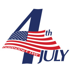 Symbol july 4 independence day vector