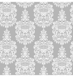 Seamless vintage baroque background vector image vector image