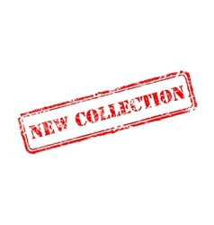 New collection rubber stamp vector image vector image