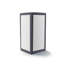 Blank black box isolated vector