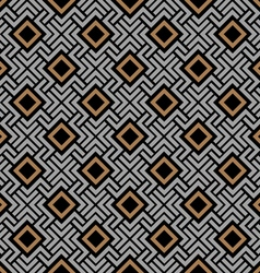 Celtic style geometric seamless pattern vector image