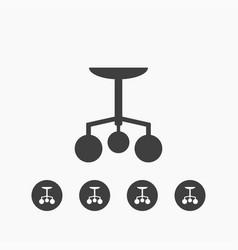 chandelier icon simple vector image