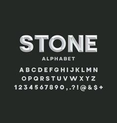 Chisel font vector