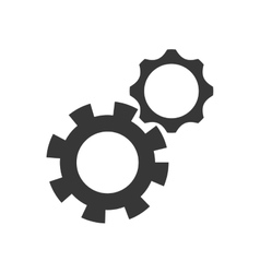 Gear machine part cog metal icon graphic vector